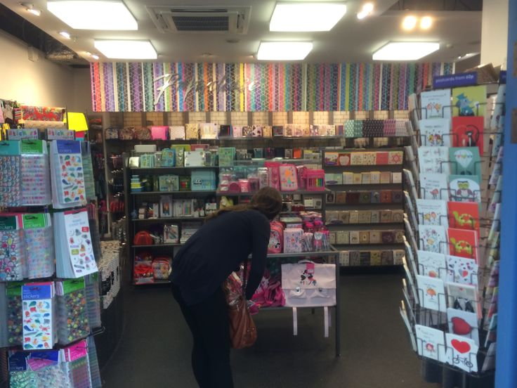 Paperchase - London - Victoria Station - Greetings - Gift - Layout - Landscape - Visual Merchandising - www.clearretailgroup.eu
