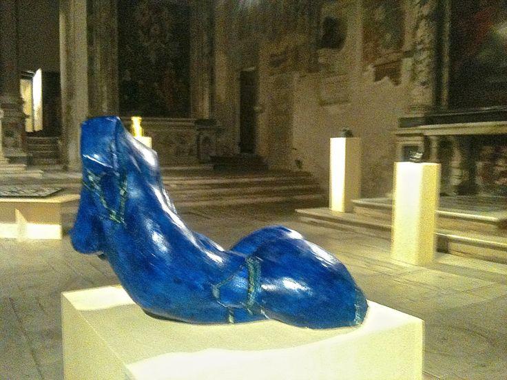 """""""LaMer"""".2014.plaster.coloured #MajdSculptures"""