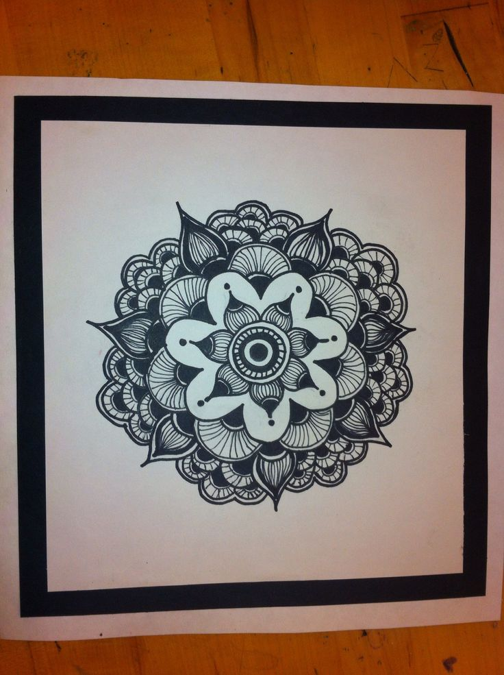 Sharpie art | Sharpie art | Pinterest | Circles, Mandalas ... Sharpie Art Flowers