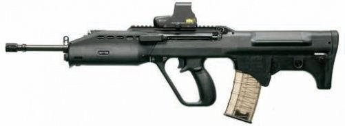 SAR 21 P-Rail with EOTech holographic sight - 5.56x45mm NATO | ♡ for Weapons | Pinterest ...