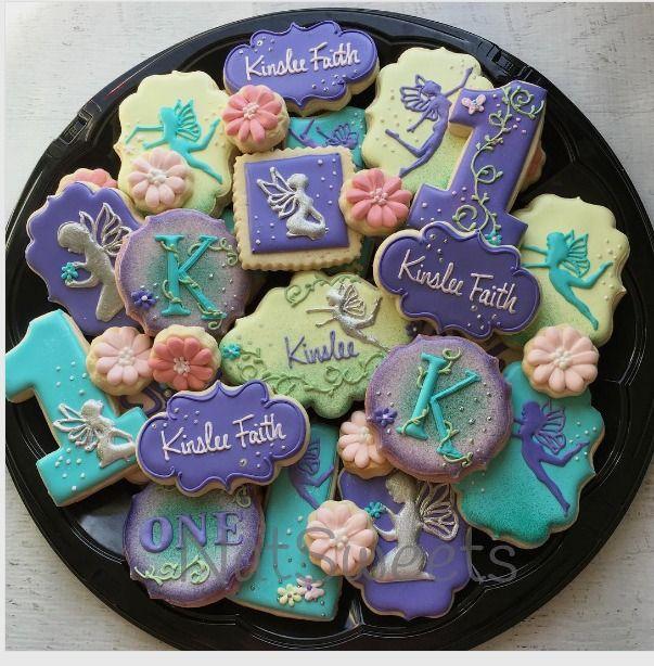 """Natasha on Instagram: """"Fairy platter #fairycookies #fairyparty"""""""