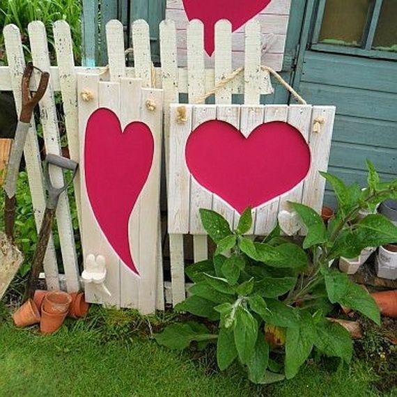 Valentine S Outdoor Decoration Ideas Craft Ideas Pinterest