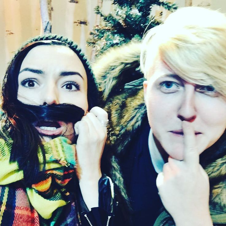 kindatv_Throwback to that time we shot a collab with @realisticsay and me... Natstasha. Shooting in the #YouTubeToronto space is always a blasty blast! - N.
