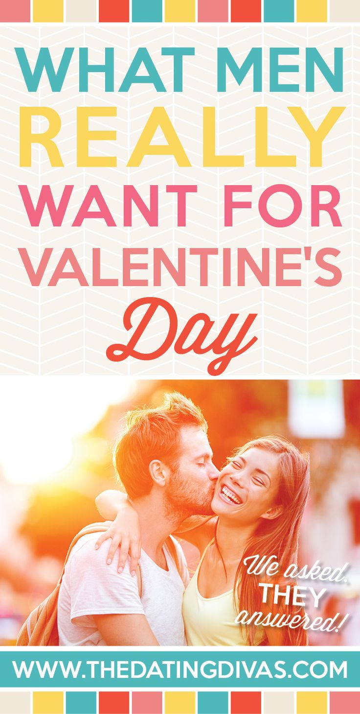What men REALLY want for Valentine's day! Way different than I thought! Great read. www.TheDatingDivas.com