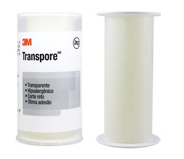 Esparadrapo Transparente Transpore 3M 100mmX4,5m - 3M BioClassi