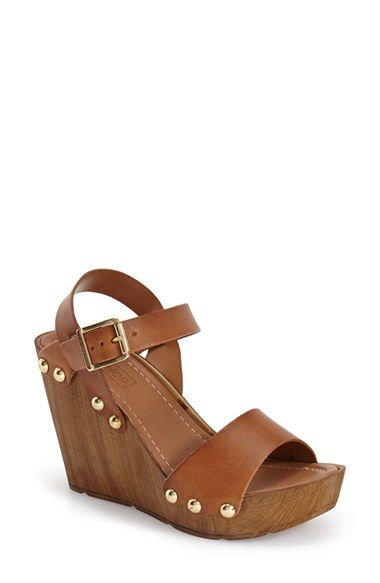 Topshop 'Waterfall Wedge Sandal (Women) available at #Nordstrom