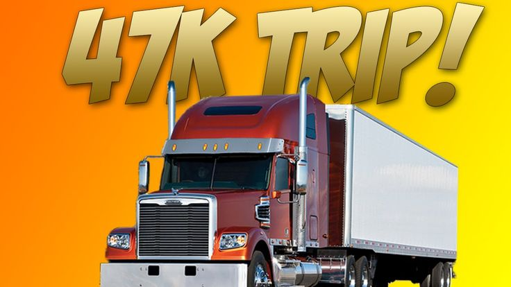 Euro Truck Simulator 2, Trip From England To Finland, 47K Reward!