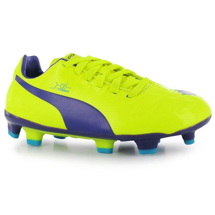 Puma | Puma EvoPower 3 FG Childrens Football Boots |