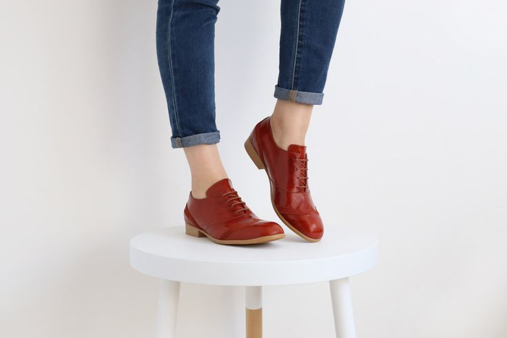 On Sale 20% womens oxford shoes , red outdated , free shipping , ADIKILAV by ADIKILAV on Etsy https://www.etsy.com/listing/210819051/on-sale-20-womens-oxford-shoes-red