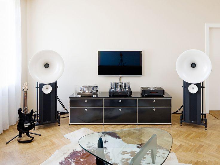 69 best images about usm at home on pinterest furniture for Sideboard wohnzimmer design