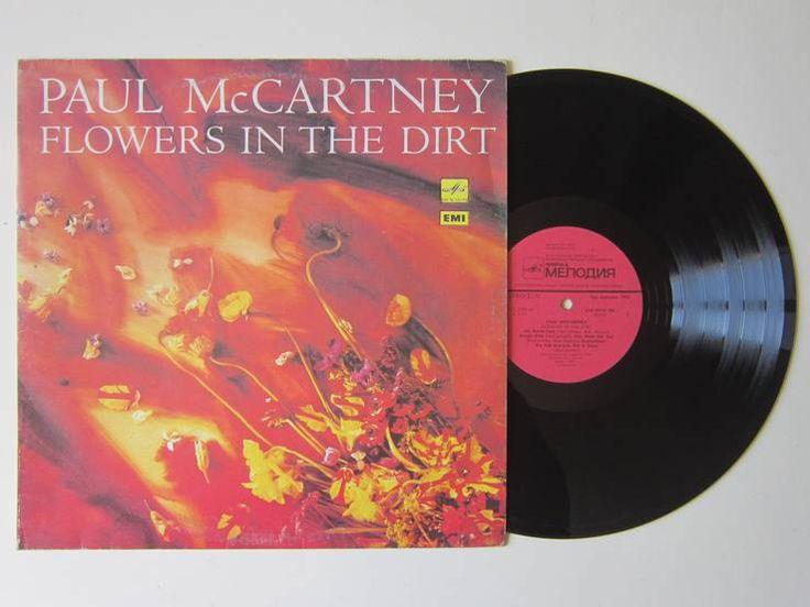 Виниловая пластинка: Paul McCartney - Flowers in the Dirt (Пол Маккартни) (Vinyl) фото 1