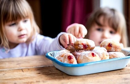 Jam Doughnuts - Kids Recipes - Domic Chapman via Great British Chefs