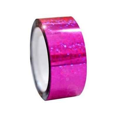 Diamond Metallic Adhesive Tapes - Strawberry MaRGarita Pink (00249) for Rhythmic Gymnastics by Pastorelli. $11.00. Metallic Diamond Adhesive Tape Rolls by Pastorelli: Give your rhythmic gymnastics equipment an intense makeover! Pastorelli introduces their exceptional line of diamond fluorescent adhesive tape rolls. These vividly colored rolls feature a glossy metallic finish that serve as the best decoration for all your rhythmic gymnastics hoops and clubs! Thi...