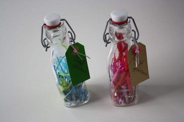 Party in a bottle... nice way to give money
