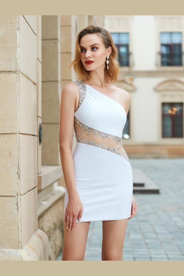Customized Absorbing Sleeveless Homecoming Dresses Stylish Sheath ... 722aeb2fbe