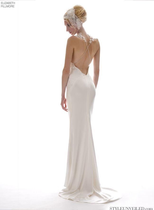 Robe de mariée dos nu, part 3 : les robes sexys et les détails à tomber