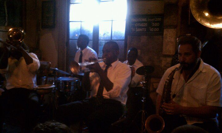 In just under two hours after arriving to the French Quarter, I was lucky enough to join a small group to hear some music. However, no one told me we'd be listening to the Preservation Hall Jazz Band.