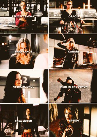 The Heroines of Arrow CW - Overwatch ~ Canary ~ Nyssa ~ Speed