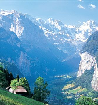 A favorite: Switzerland