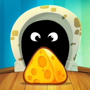 TripTrap is an attractive casual puzzle game where you help a little mouse called Ched satisfy his hunger by getting all the cheese you can find.