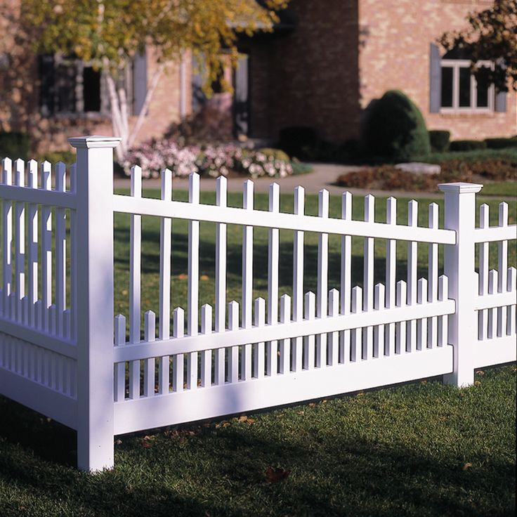 8 Best Bufftech Classic Vinyl Fence Images On Pinterest