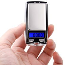 100g*0.01g mini LCD Electronic Digital Pocket Scale Jewelry Gold Weighting Scale Gram balance Weight Scales small as car key 29%(China)