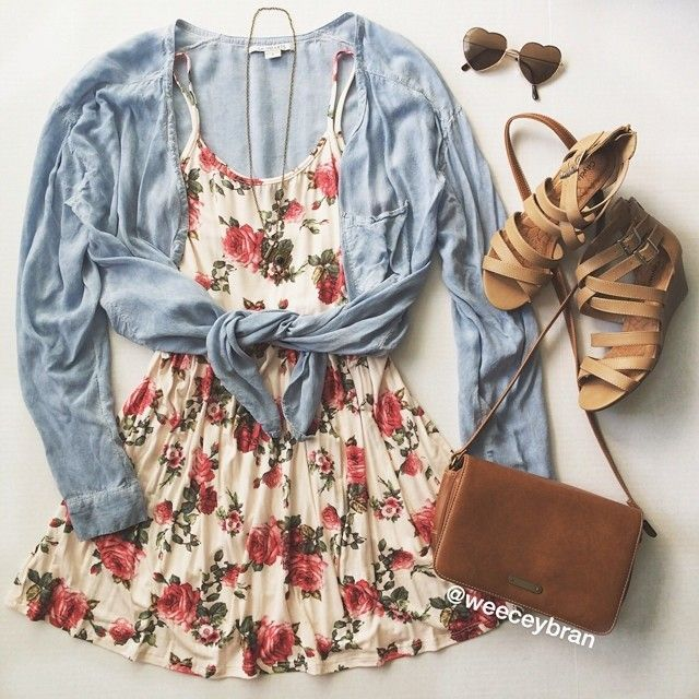 Cute Floral Dress | Everyday New Fashion