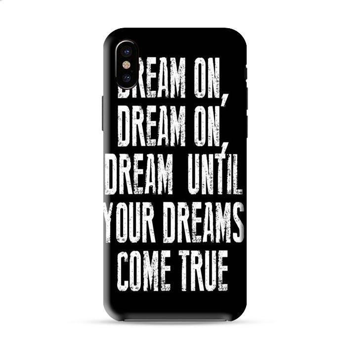 Dream On Aerosmith Lyric Iphone X 3D Case Caseperson