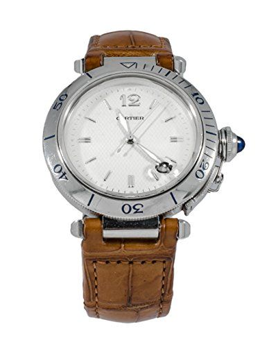 #cartierpashawatch #cartierwatchesformen #cartierwatchesforsale Cartier PASHA automatic-self-wind mens Watch W31017H3 (Certified Pre-owned) Check https://www.carrywatches.com
