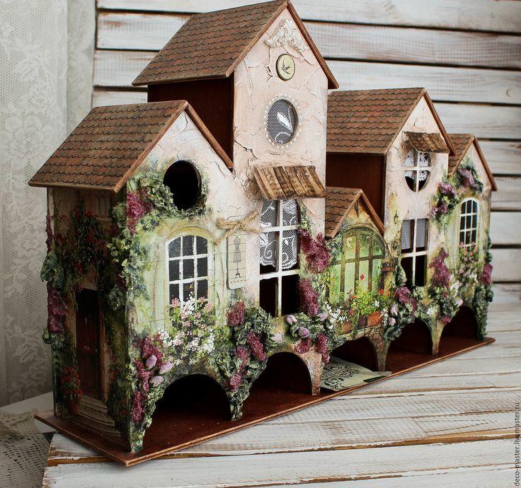 Большой чайный домик (улица из 5 домов) МАЛЕНЬКАЯ ГОЛЛАНДИЯ – купить в интернет-магазине на Ярмарке Мастеров с доставкой