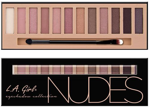 A beautiful L.A. Girl palette that features a range of nude colors and is the perfect Naked Palette dupe. | 20 Awesome Products From Amazon To Put On Your Wish List