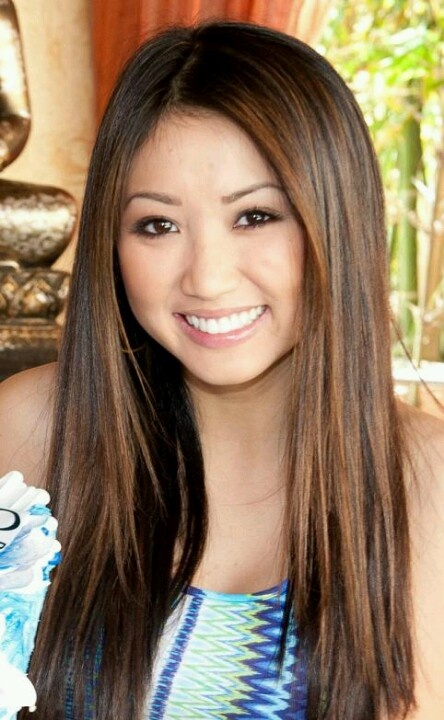 Brenda Song I Might Dye My Hair Like This Idk
