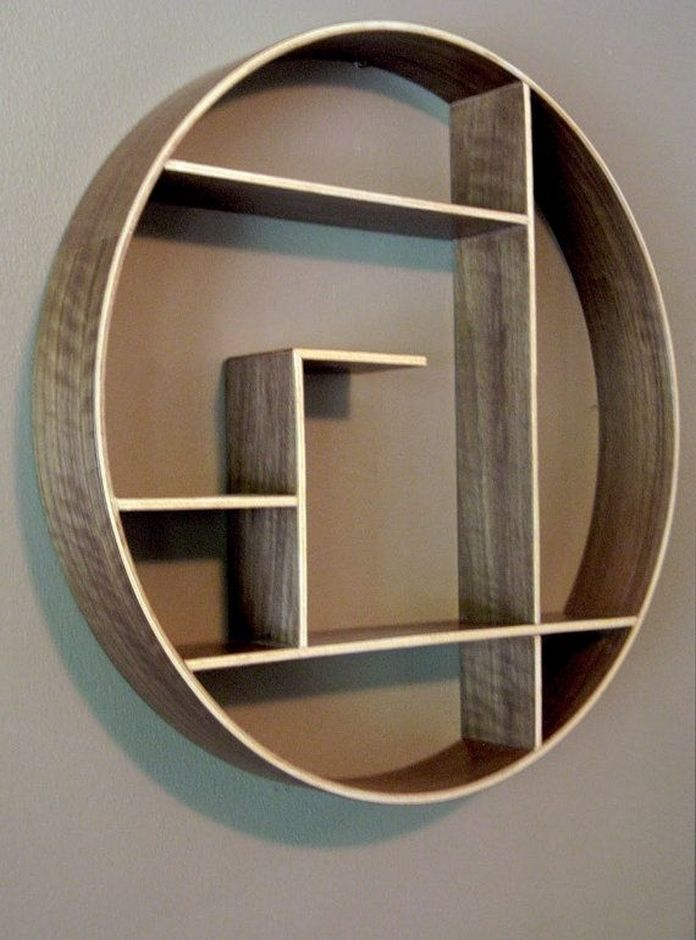 89 Models Beautiful Circular Bookshelf Design For Complement Of