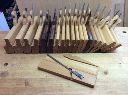 moulding planes Planes / Scrapers / Chisels / Sharpening