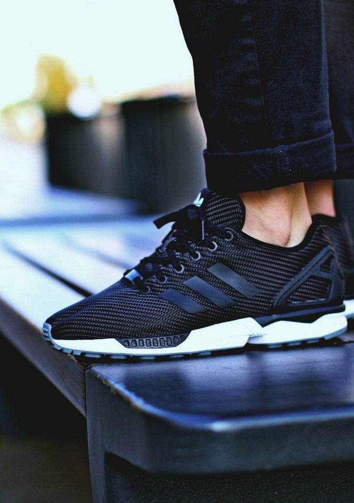 Ballistic Woven adidas ZX Flux For more, visit http://www.streethyped.com