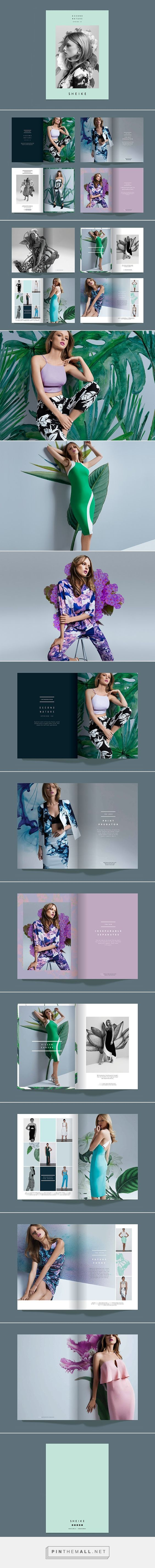 A successful brochure design is essential for a fashion company.