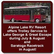 Adirondack Cabin Rentals, Campsites and Camping Facilities Near Saratoga and Lake George, NY