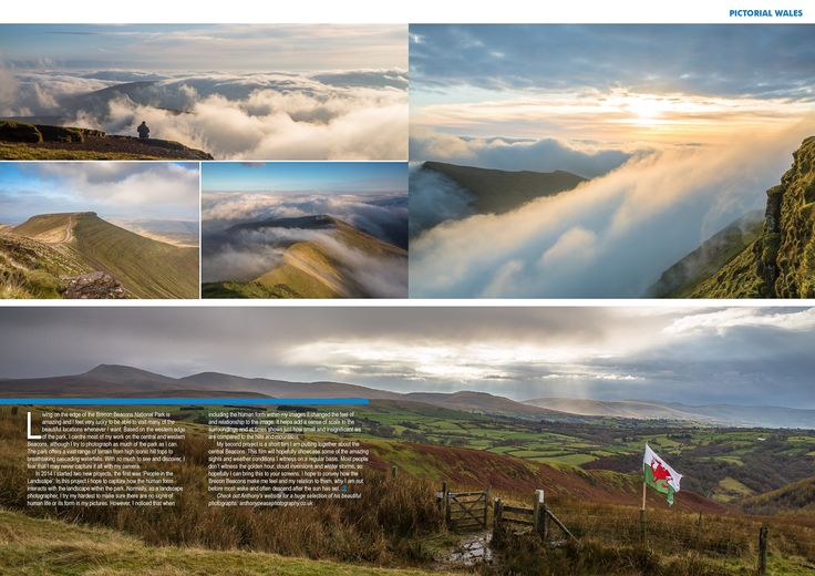 Anthony Pease Photography | Welsh Country Magazine, Brecon Beacons.