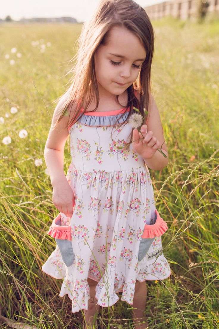 Cherie Knit Dress. Such cute clothes for little girls