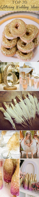 Here you go baby glitter wedding ideas!!! <3 @bhelton6