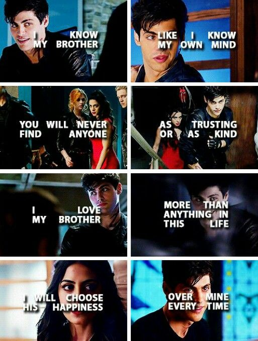 Alec and Isabelle Lightwood #shadowhunters tumblr