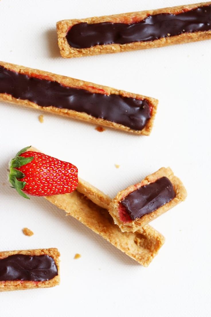 La Thai qui Riz: Petits biscuits fraise/chocolat