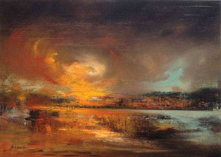 "Saatchi Art Artist Beata Belanszky-Demko; Painting, ""Connection Point"" #art  930$ sold"