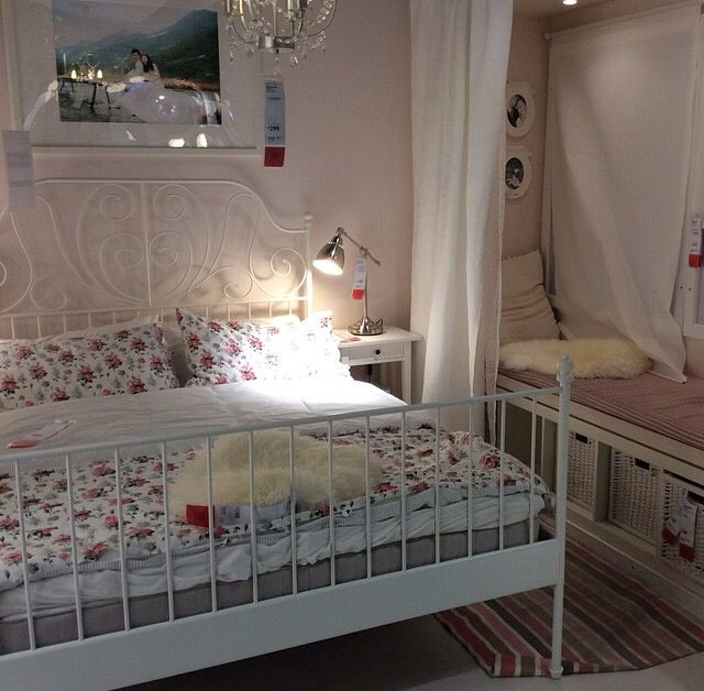 Ikea Bedroom Leirvik Hemnes Is Creative Inspiration For Us: Ikea Romantic Leirvik Bedroom