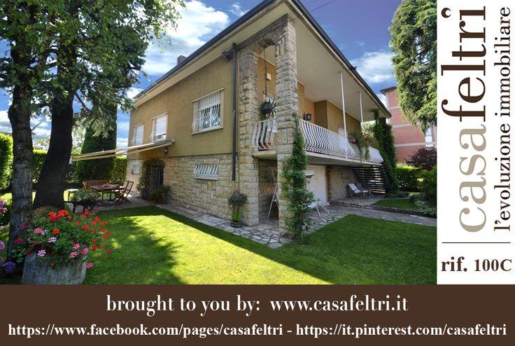 BERGAMO - Zona Carducci/San Paolo villa indipendente. L'immobile è costituito da 2 appartamenti con ingressi indipendenti.  La metratura complessiva delle due unità è di circa 360 mq. oltre al giardino di circa 1.000 mq. L'immobile si presenta in ottime condizioni, ideale per 2 nuclei familiari.  ACE G > 177 kwh/m2a - € 550.000 RIF. 100C