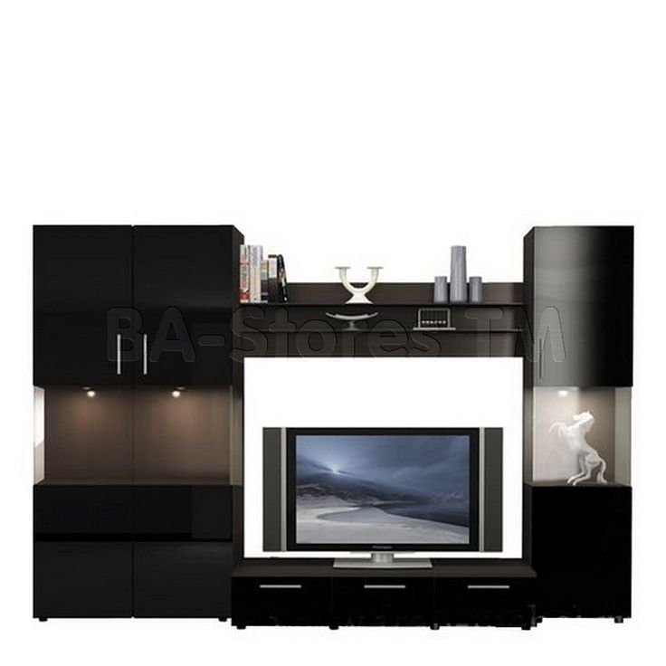 Modern Entertainment Units | Figaro Modern Wall Unit Composition-5 - Ace Decore | Wall units ...