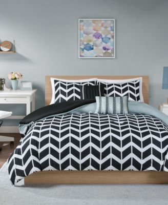 918b795baa3194 Nadia 5-Pc. Bedding Sets in 2019 | New house | Chevron duvet covers ...