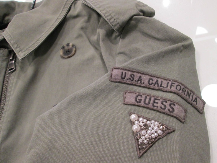Army look from Guess