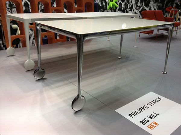 big will table by philippe starck for magis tables. Black Bedroom Furniture Sets. Home Design Ideas