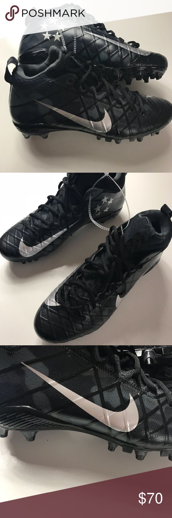 Nike Field General Cleats Brand new without box. Black and Gray Camouflage Field General Cleats. Nike Shoes Athletic Shoes
